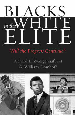 Blacks in the White Elite: Will the Progress Continue? (Paperback)