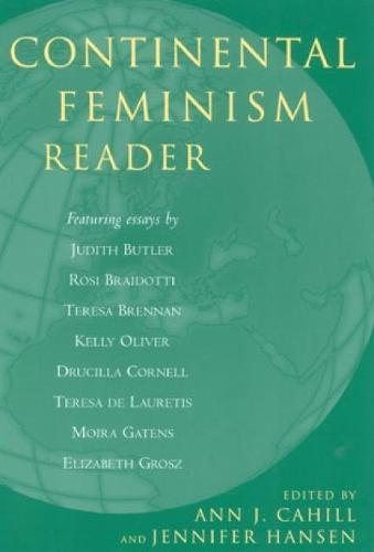 Continental Feminism Reader (Hardback)