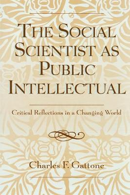 The Social Scientist as Public Intellectual: Critical Reflections in a Changing World (Paperback)
