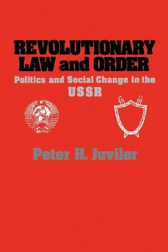Revolutionary Law and Order (Paperback)