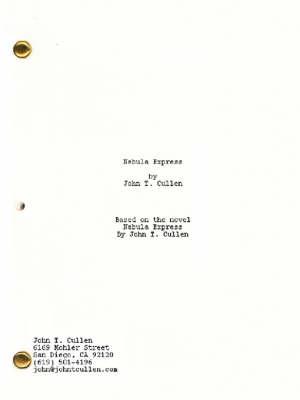 Nebula Express (Screenplay) (Paperback)