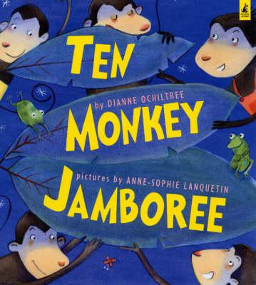 Ten Monkey Jamboree (Paperback)