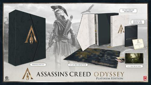 Assassin's Creed Odyssey: Official Collector's Edition Guide (Hardback)