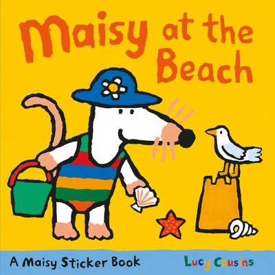 Maisy At The Beach Sticker Book (Paperback)