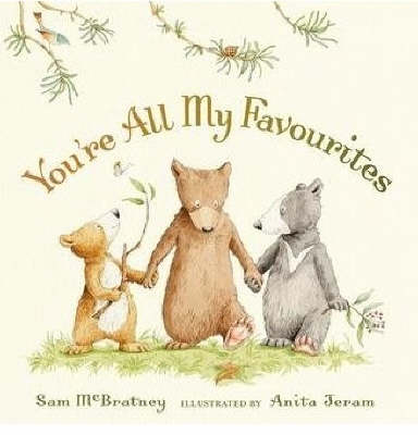 You're All My Favourites Board Book (Board book)