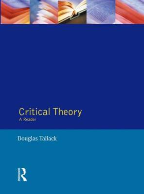 Critical Theory: A Reader (Paperback)