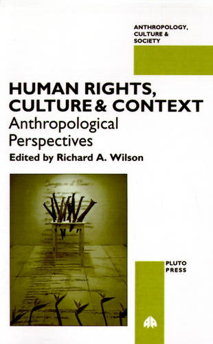 Human Rights, Culture and Context: Anthropological Perspectives - Anthropology, Culture and Society (Paperback)