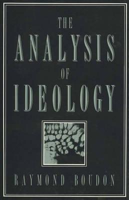 The Analysis of Ideology (Hardback)