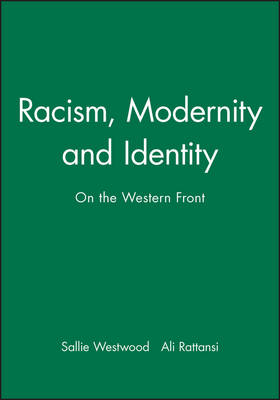 Racism, Modernity and Identity: On the Western Front (Paperback)