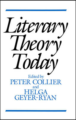 Literary Theory Today (Paperback)