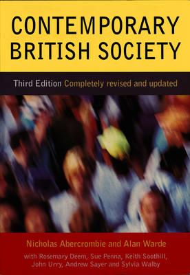 Contemporary British Society (Paperback)