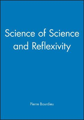 Science of Science and Reflexivity (Hardback)