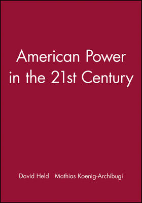 American Power in the 21st Century (Paperback)