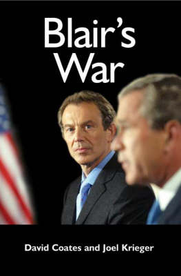 Blair's War (Hardback)