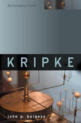 Kripke - Key Contemporary Thinkers (Paperback)