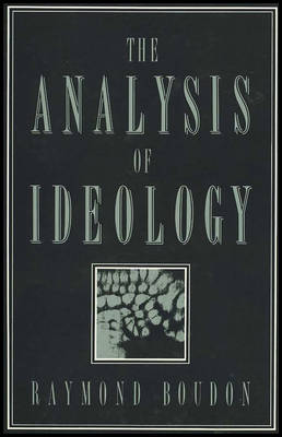 The Analysis of Ideology (Paperback)