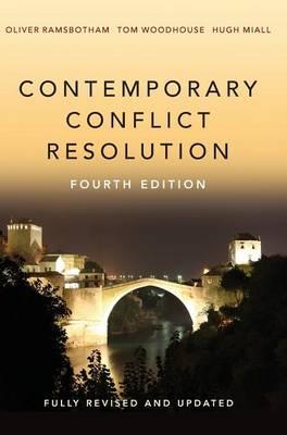 Contemporary Conflict Resolution (Hardback)
