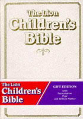 The Lion Children's Bible: Gift Edition (Leather / fine binding)