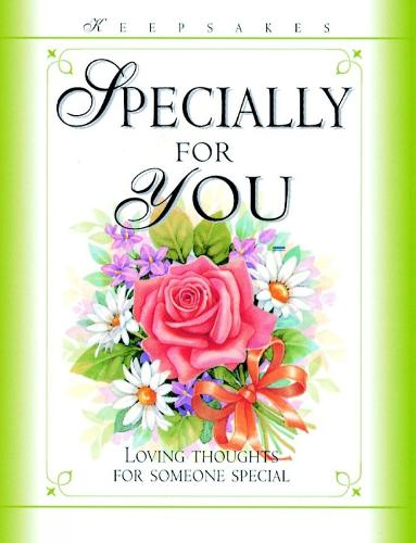 Specially for You - Keepsakes (Hardback)
