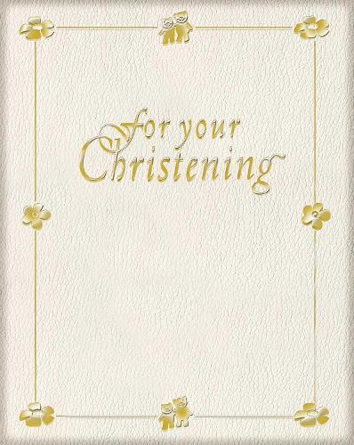 For Your Christening (Hardback)