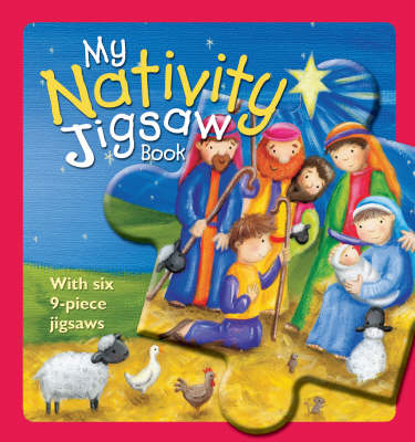 My Nativity Jigsaw Book (Board book)