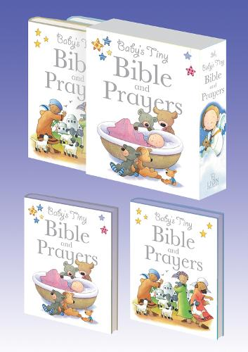 Baby's Tiny Bible and Prayers - Baby Bible (Hardback)