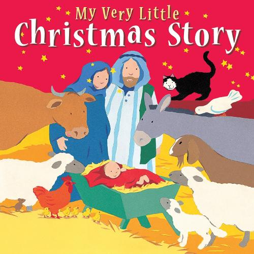 My Very Little Christmas Story - My Very First BIG Bible Stories (Board book)