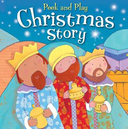 Peek and Play Christmas Story (Board book)