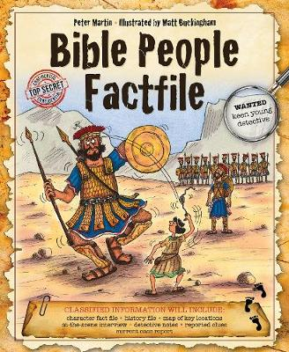 Bible People Factfile (Hardback)