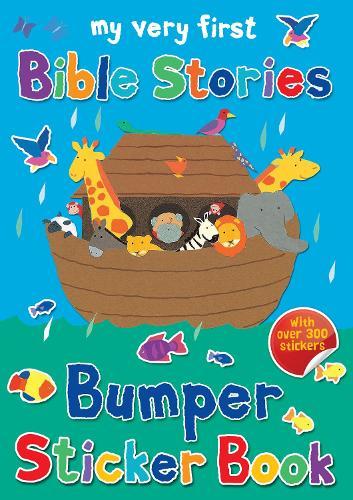 My Very First Bible Stories Bumper Sticker Book - My Very First Sticker Books (Paperback)