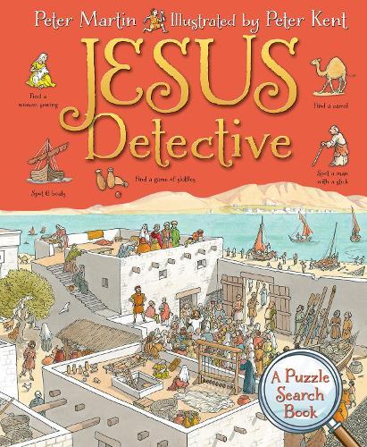 Jesus Detective: A Puzzle Search Book - The Blitz Detective (Hardback)