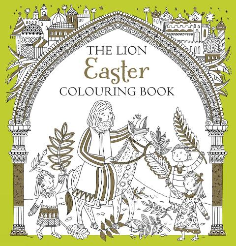 Coloring Books For Adults Waterstones The Lion Easter Colouring Book By Antonia Jackson Felicity French