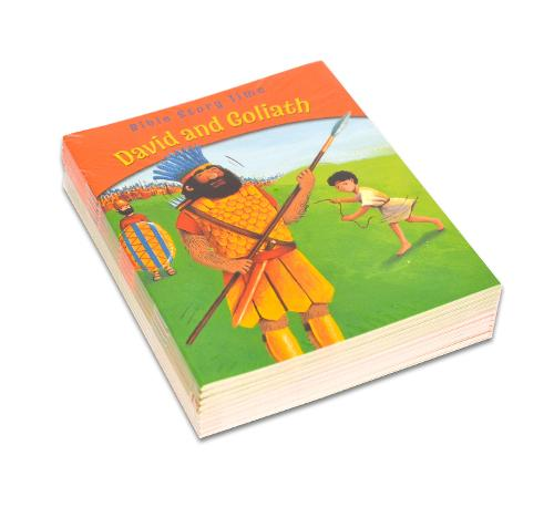 David and Goliath: Pack of 10 - Bible Story Time (Paperback)