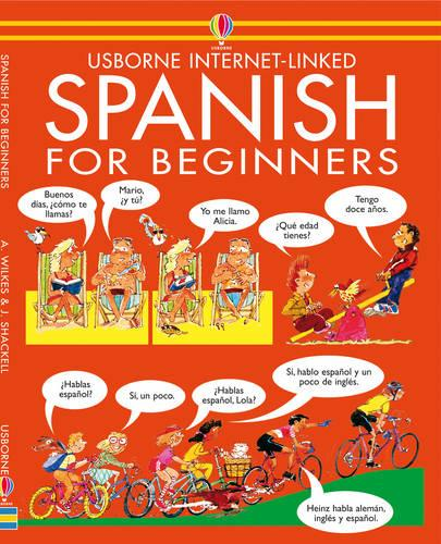 Spanish For Beginners - Internet Linked with Audio CD (CD-Audio)