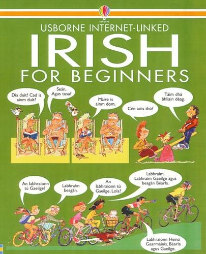 Irish For Beginners - Internet Linked with Audio CD (CD-Audio)