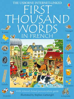 First Thousand Words In French Mini Ed (Paperback)