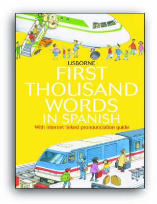 First Thousand Words In Spanish Mini Ed (Paperback)