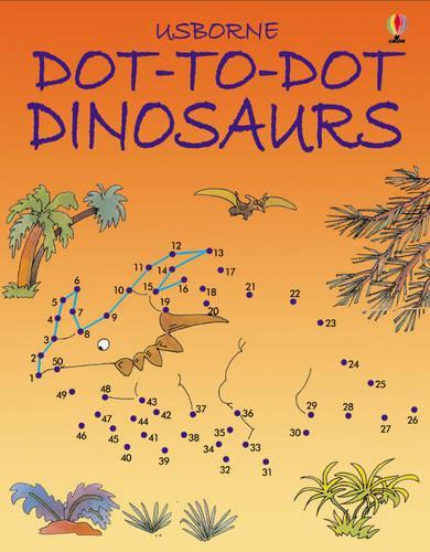 Dot to Dot Dinosaurs - Dot-to-dot (Paperback)