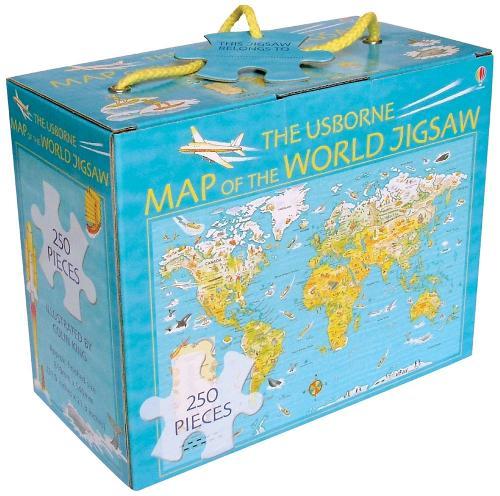 Map of the World Boxed Jigsaw - Jigsaws
