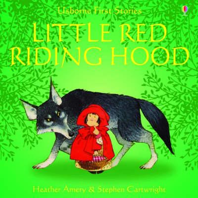 Usborne Fairytale Sticker Stories Little Red Riding Hood - Fairytale Sticker Stories (Paperback)