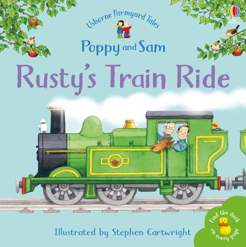 Rusty's Train Ride - Farmyard Tales Minibook Series (Paperback)