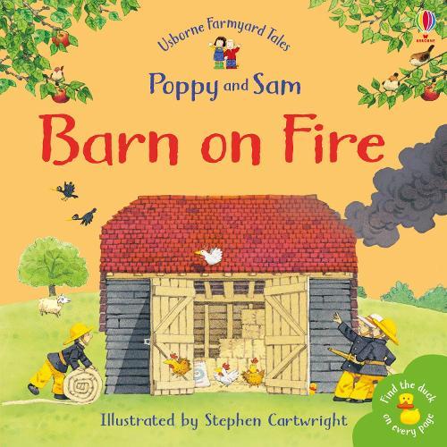 Barn On Fire - Farmyard Tales Minibook Series (Paperback)