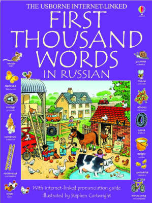 First 1000 Words In Russian (Paperback)