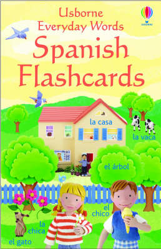 Everyday Words In Spanish Sticker Book
