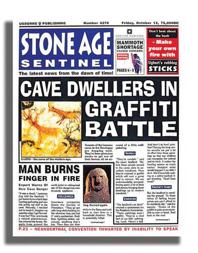 Stone Age Sentinel - Newspaper Histories (Paperback)