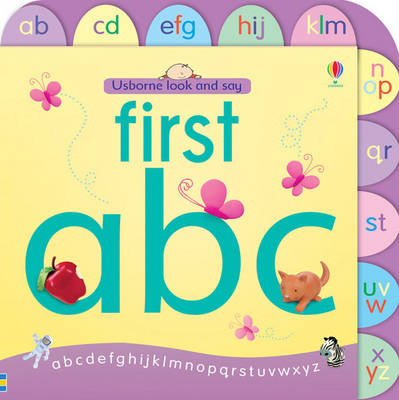 Usborne Look and Say First ABC - Look & Say (Board book)