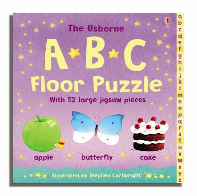 Usborne Abc Floor Puzzle (Board book)