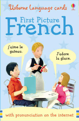 French Words and Phrases Language Cards - First Picture Books