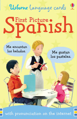 First Picture Flashcards Spanish
