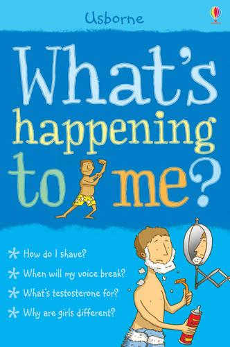 What's Happening To Me?: Boy - Facts Of Life (Paperback)